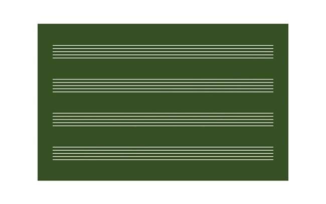 歌王五线谱黑板